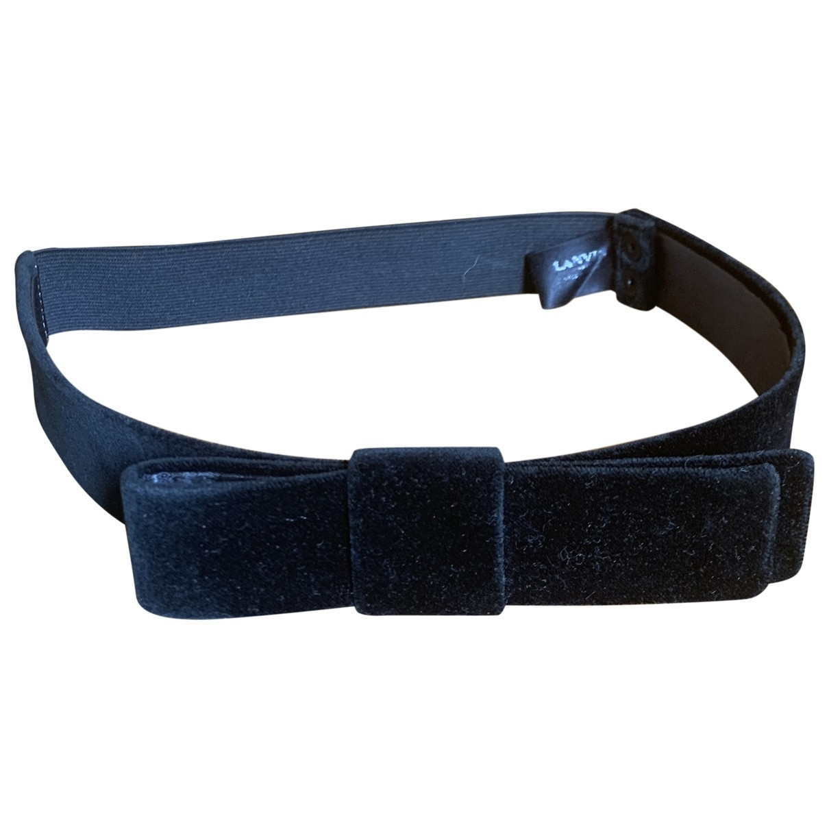 Lanvin \N Navy Cloth belt for Women M International