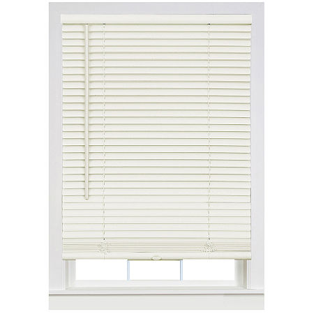 Cordless Deluxe Sundown GII 1in Horizontal Mini Blinds, One Size , Beige