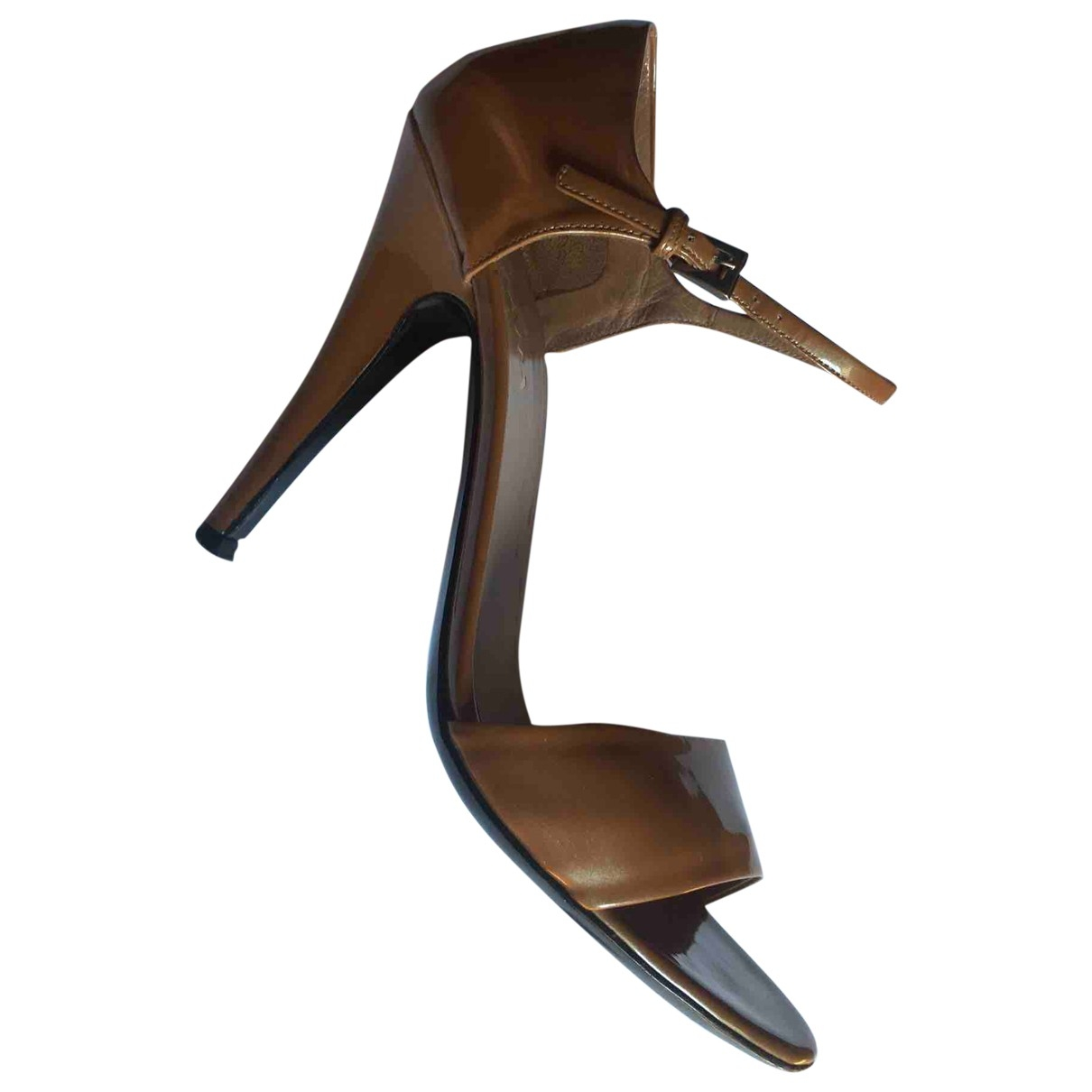 Prada \N Patent leather Sandals for Women 39 EU