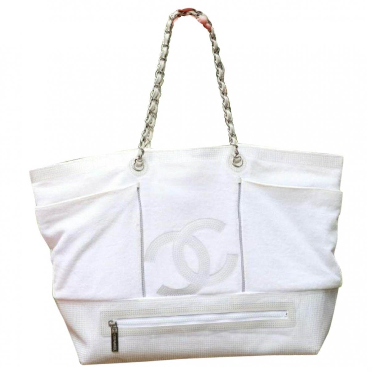 Chanel \N White Cotton handbag for Women \N