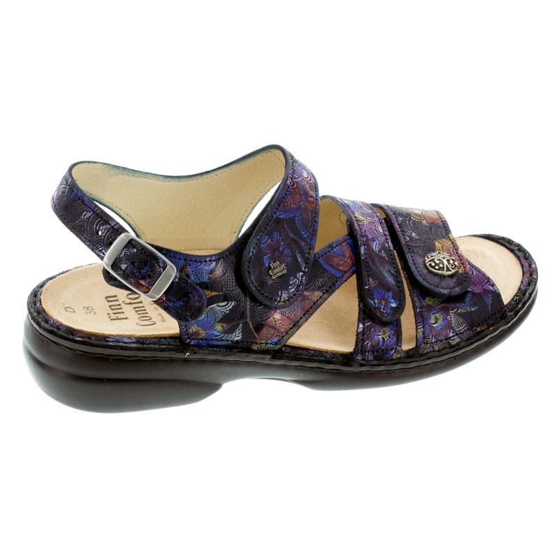 Finn Comfort Gomera Dark Blue Leather Soft Footbed 40