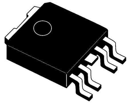 STMicroelectronics LF90CPT-TR, LDO Regulator, 500mA, 9 V, ±2% 5-Pin, PPAK (5)