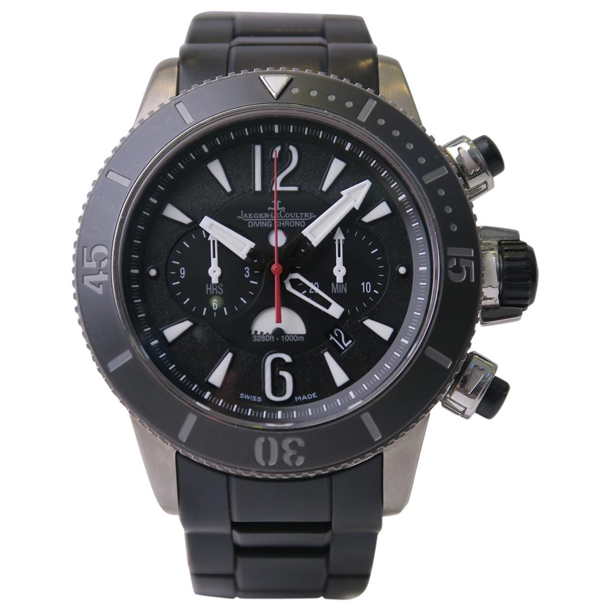 Jaeger-lecoultre Master Compressor  Black Titanium watch for Men \N