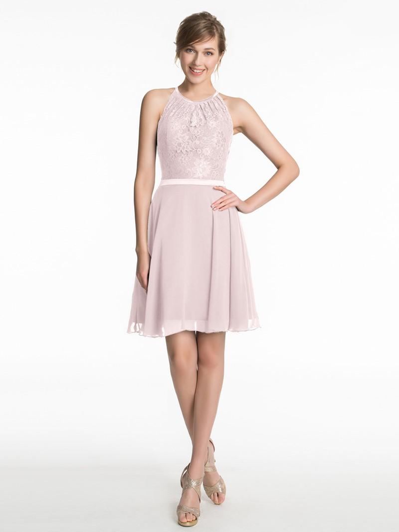 Ericdress A-Line Lace Short Bridesmaid Dress