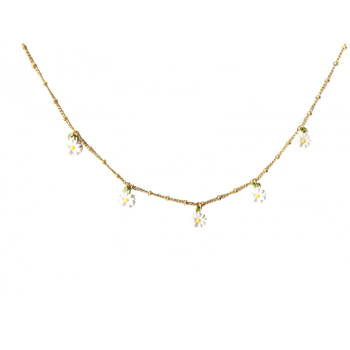 Les Néréides \N Multicolour Metal necklace for Women \N