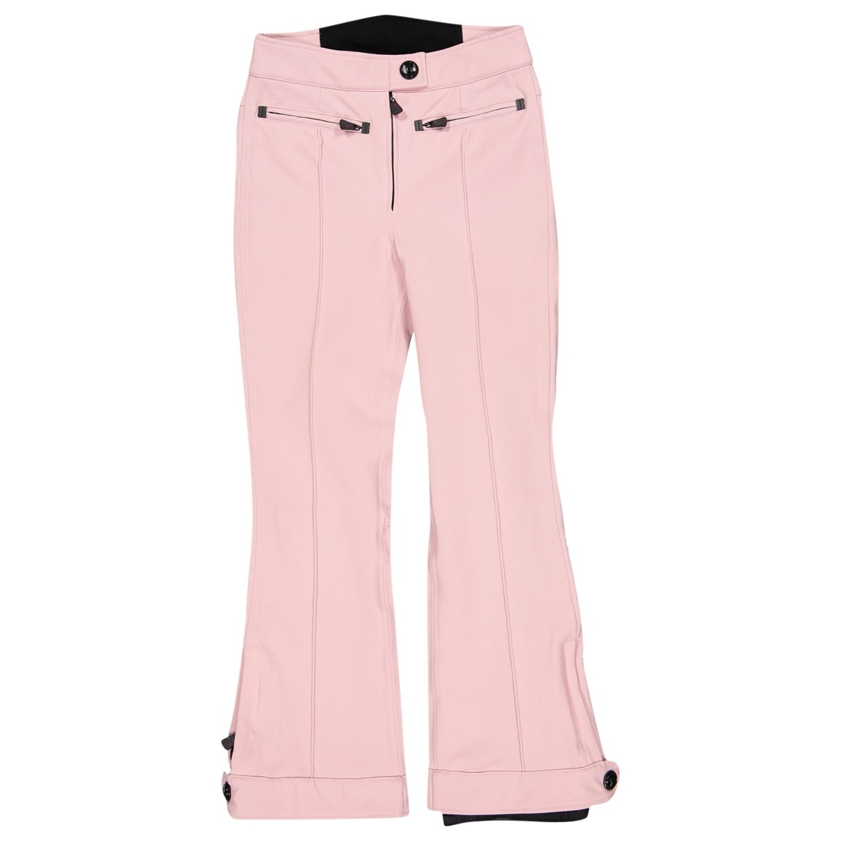 Moncler \N Pink Trousers for Women 38 FR