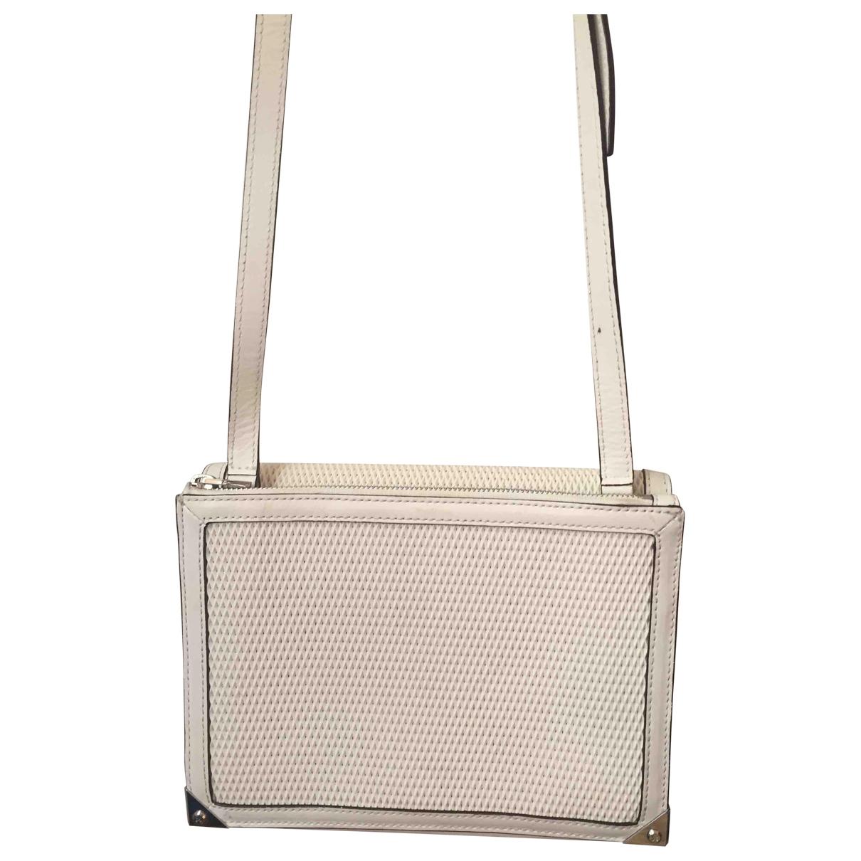 Alexander Wang \N White Leather handbag for Women \N