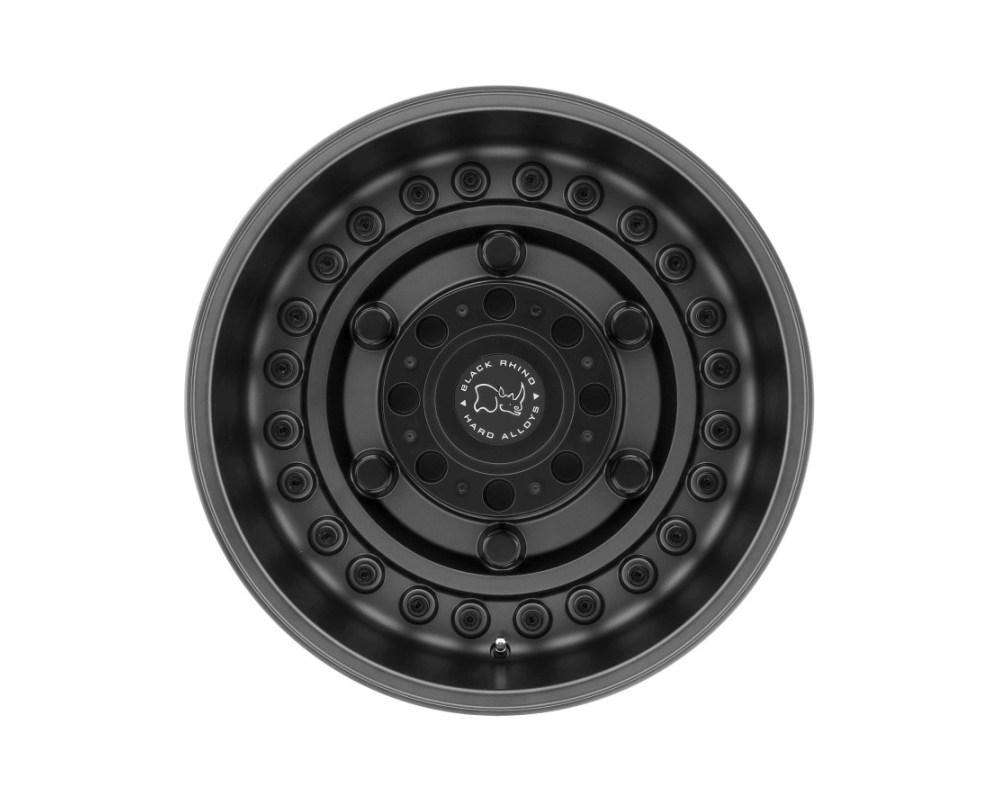 Black Rhino Armory Matte Gunblack Wheel 17x9.5 8x180 6mm CB125.1