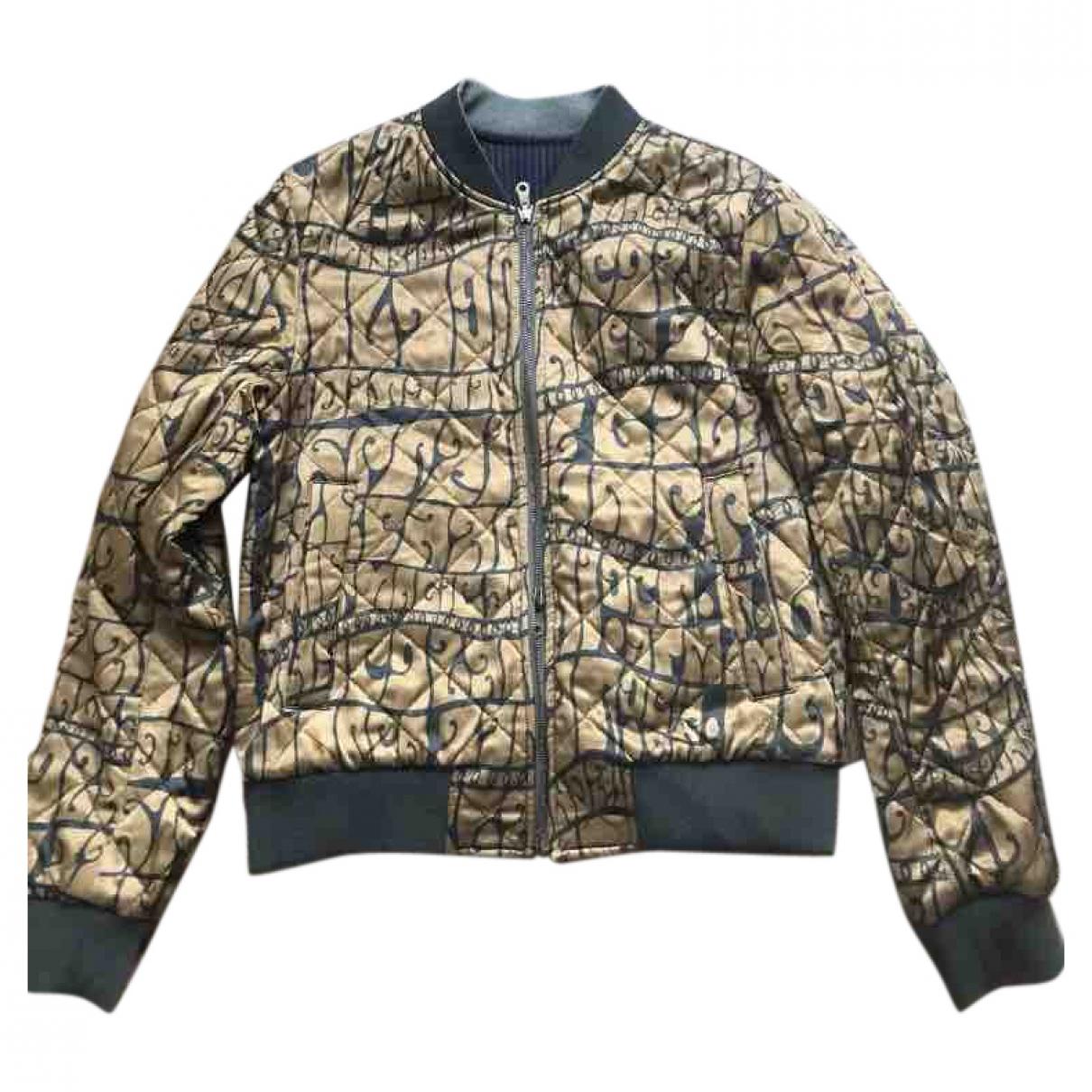 Dries Van Noten \N Gold Wool jacket  for Men 48 IT