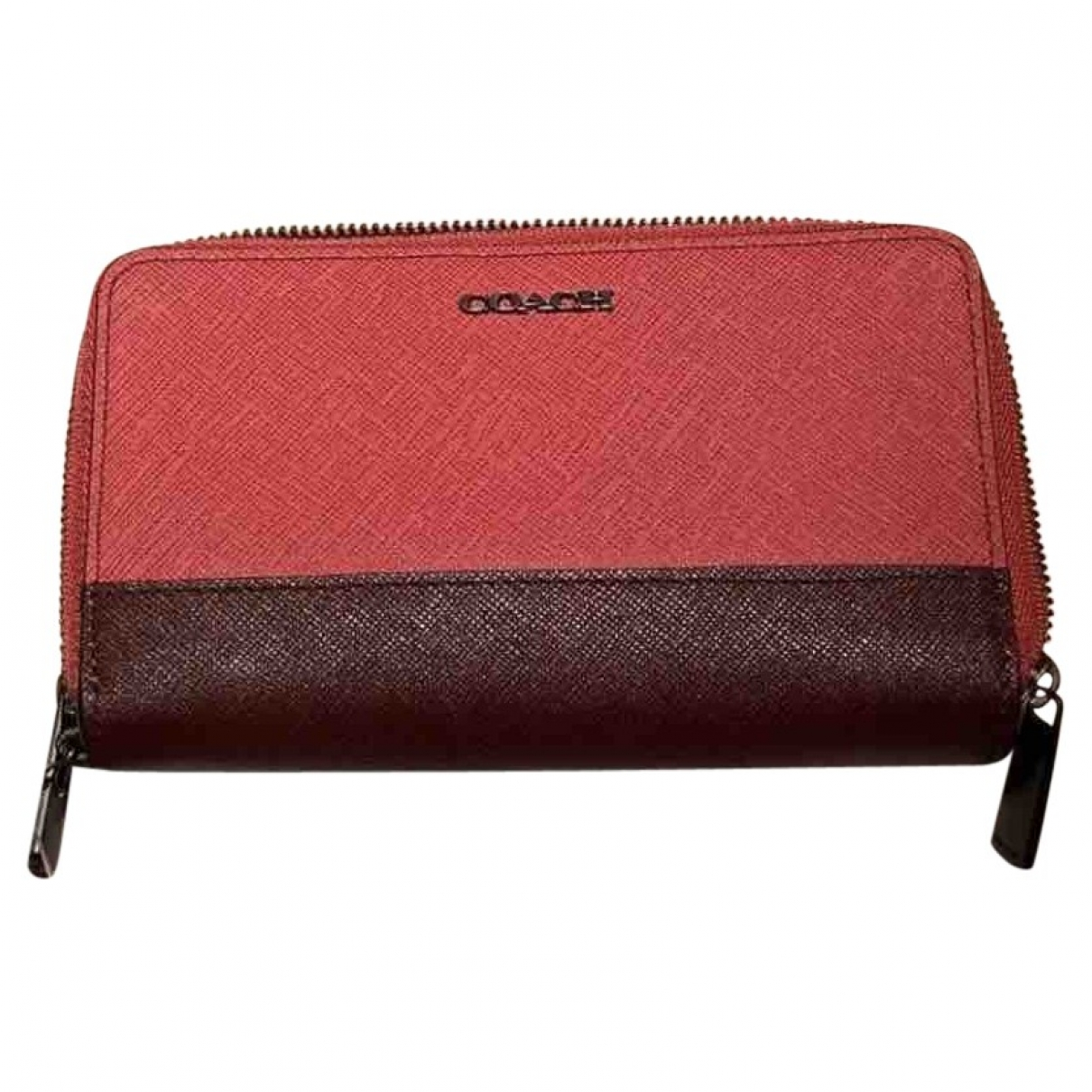 Coach \N Pink Leather wallet for Women \N