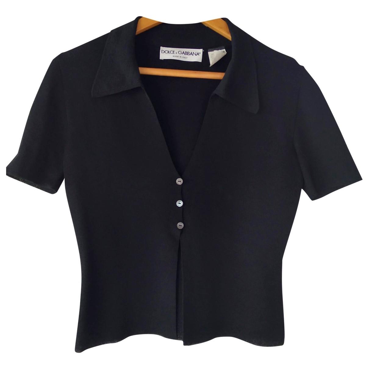 Dolce & Gabbana \N Black  top for Women 46 IT