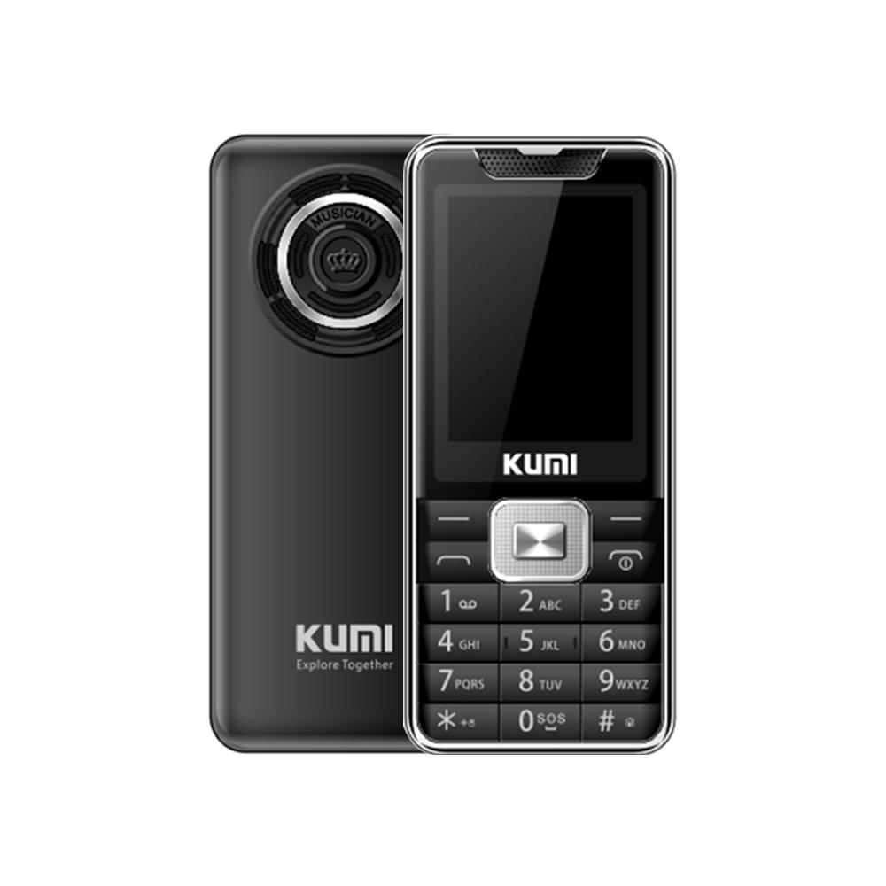 KUMI Mi1 Global Version Infrared Thermometer Function Phone Black