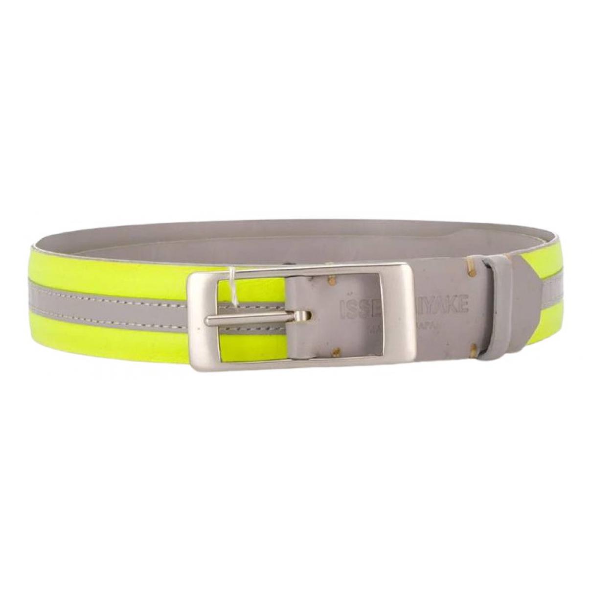 Issey Miyake \N Multicolour Leather belt for Women 95 cm