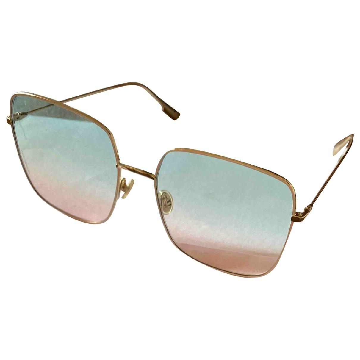 Dior Stellaire 1 Blue Metal Sunglasses for Women \N