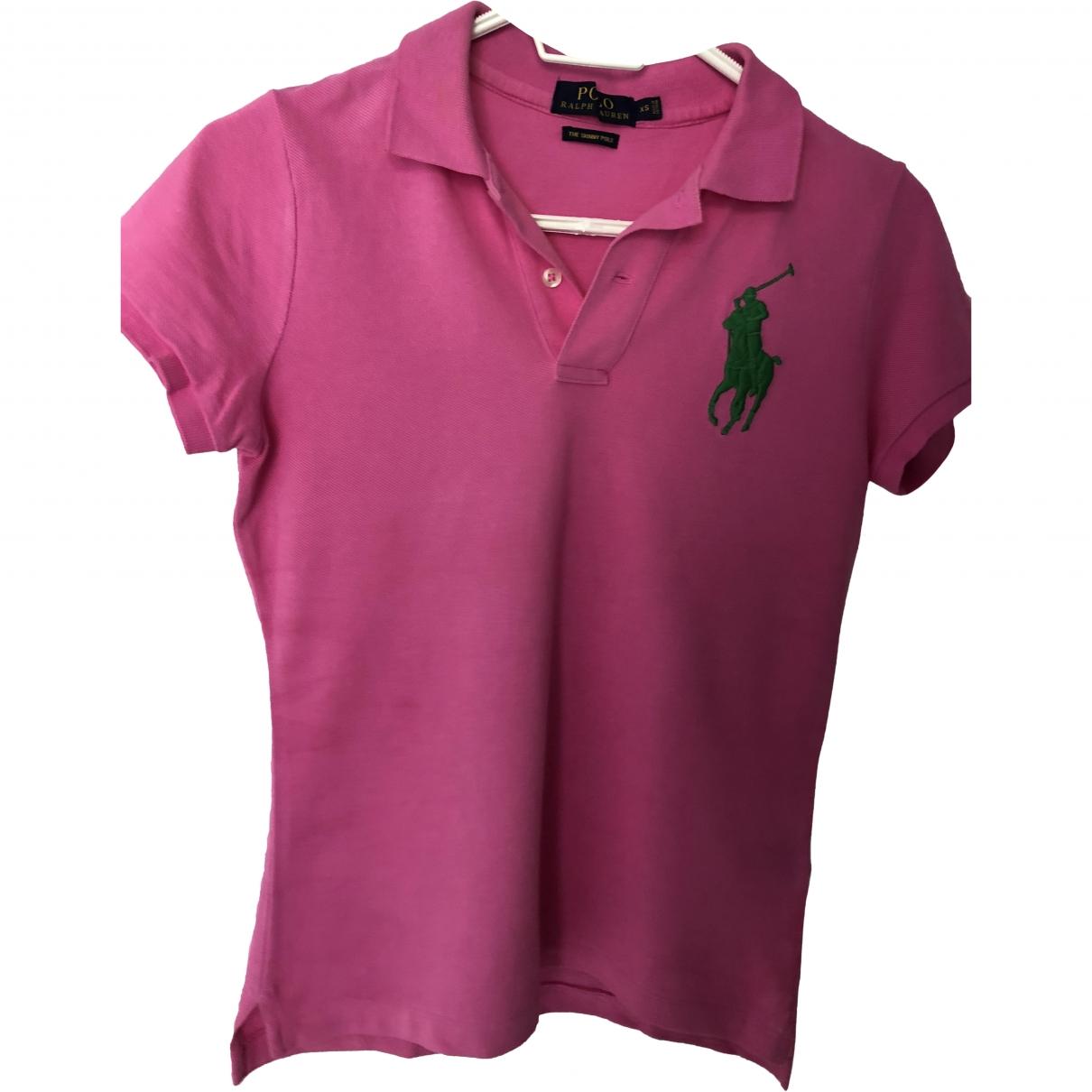Polo Ralph Lauren \N Pink Cotton  top for Women S International