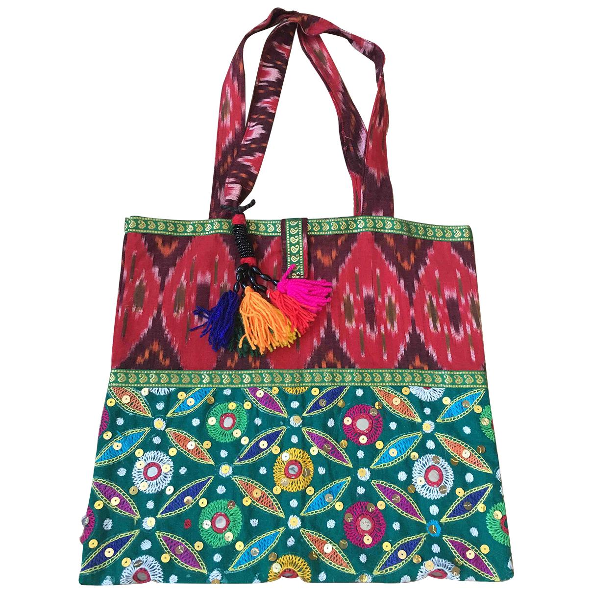 Non Signé / Unsigned Hippie Chic Glitter handbag for Women \N
