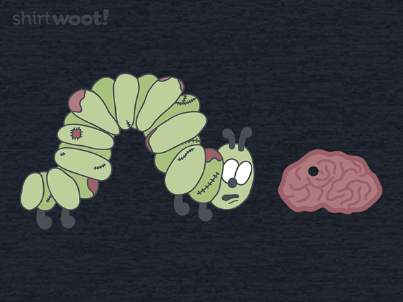 Very Hungry For Brains T Shirt