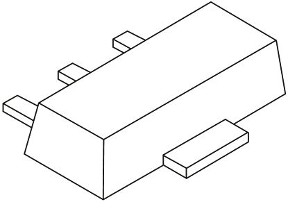 Nexperia BSR41 NPN Transistor, 1 A, 60 V, 3-Pin SOT-89 (20)