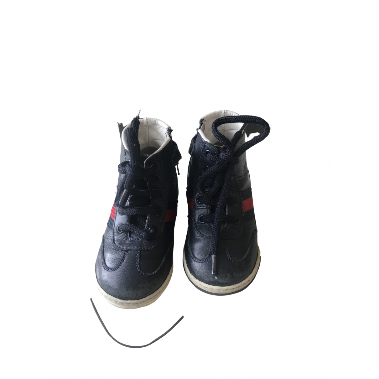 Gucci \N Blue Leather Trainers for Kids 21 EU