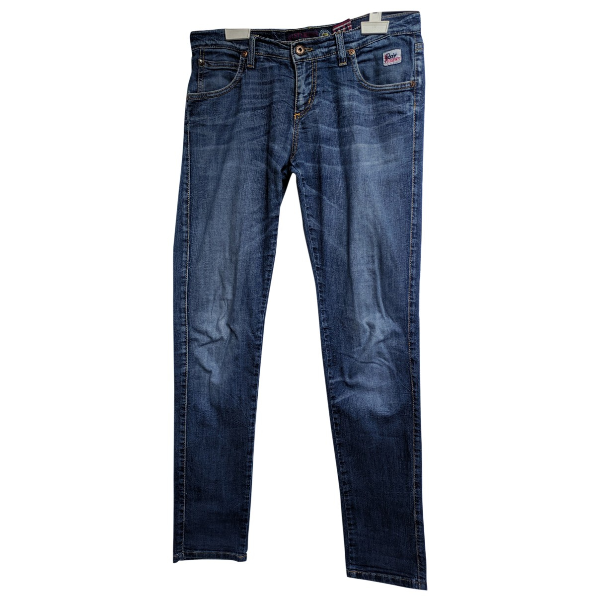 Roy Roger's \N Grey Denim - Jeans Trousers for Men S International