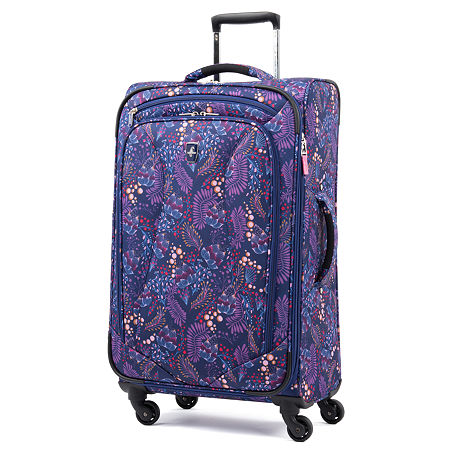 Atlantic Ultra Lite 25 Inch Lightweight Luggage, One Size , Blue