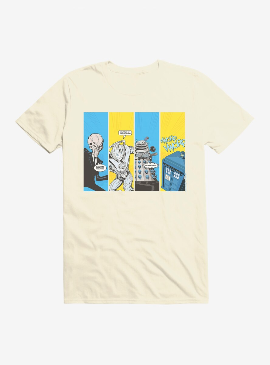 Doctor Who Pop Comic T-Shirt