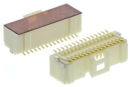 Molex , Pico-Clasp, 501190, 30 Way, 2 Row, Straight PCB Header (10)