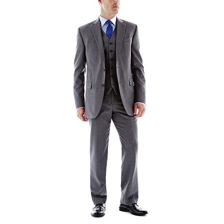 Stafford Executive Super 100 Wool Suit Jacket - Classic, 38 Regular, Gray
