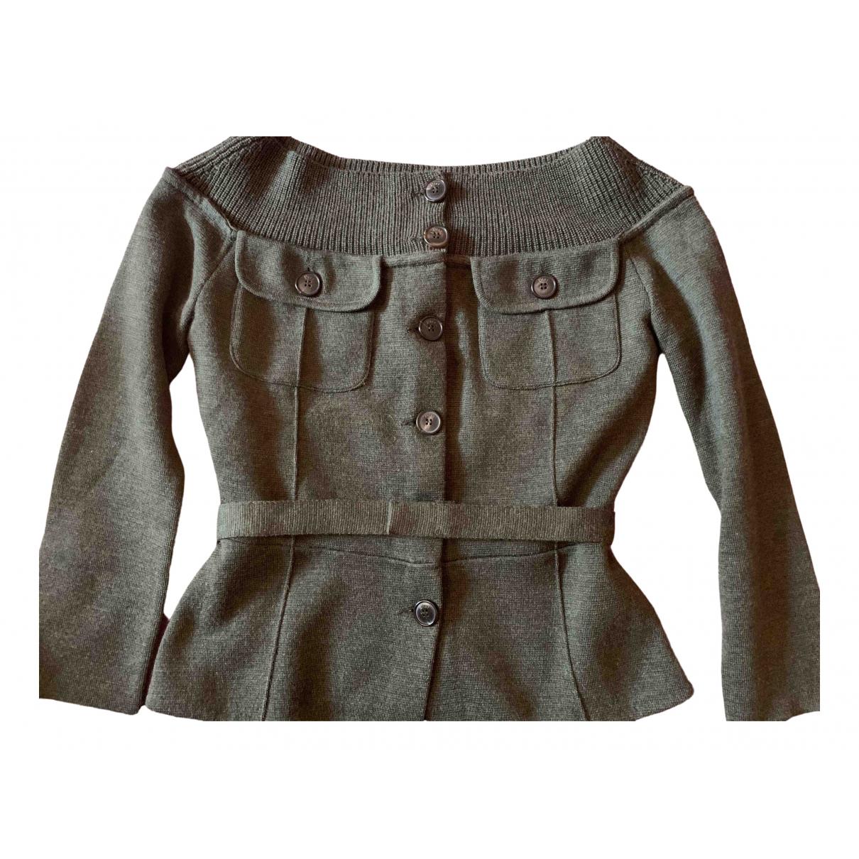 Dior \N Green Wool jacket for Women 44 IT