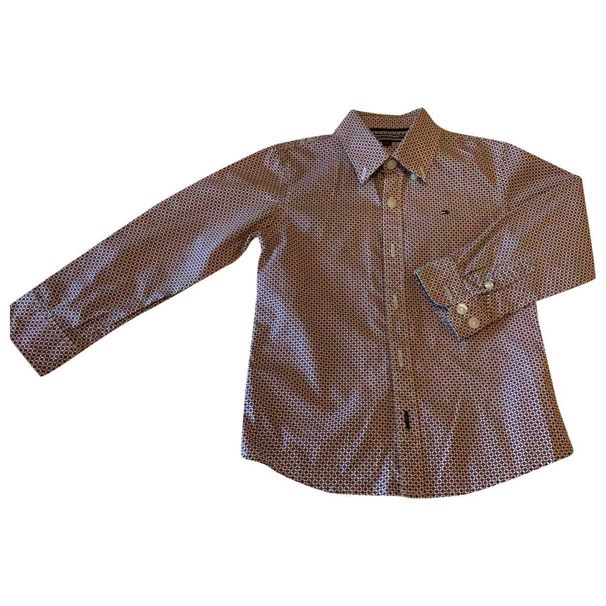 Tommy Hilfiger \N Burgundy Cotton  top for Kids 4 years - until 40 inches UK