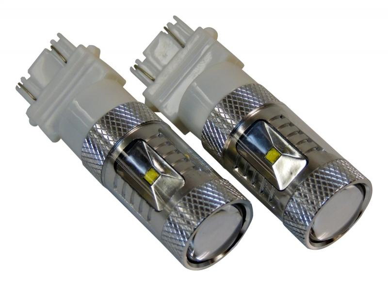 RT Offroad RT28067 White 3157 LED Bulb Kit for Jeep JK, TJ, YJ, WK, WJ, XK, KK, KJ, XJ, MK Models