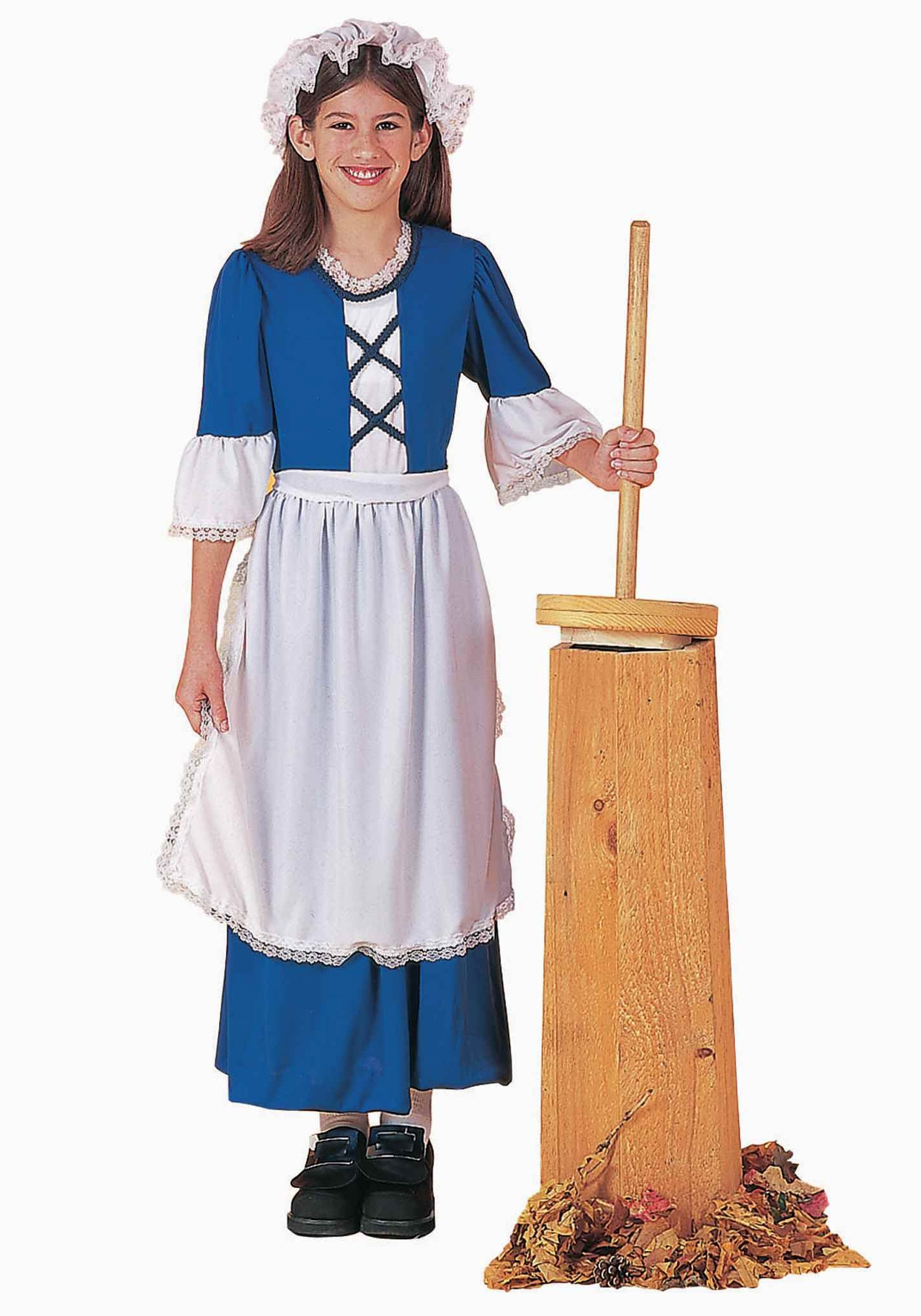 Colonial Girl Costume for Kids