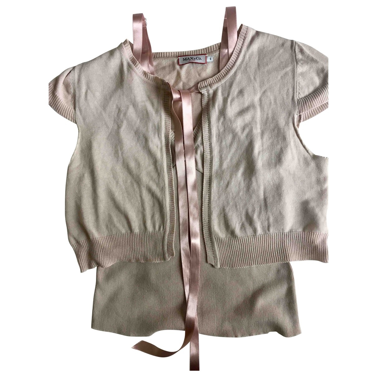 Max & Co \N Pink Cotton  top for Women S International