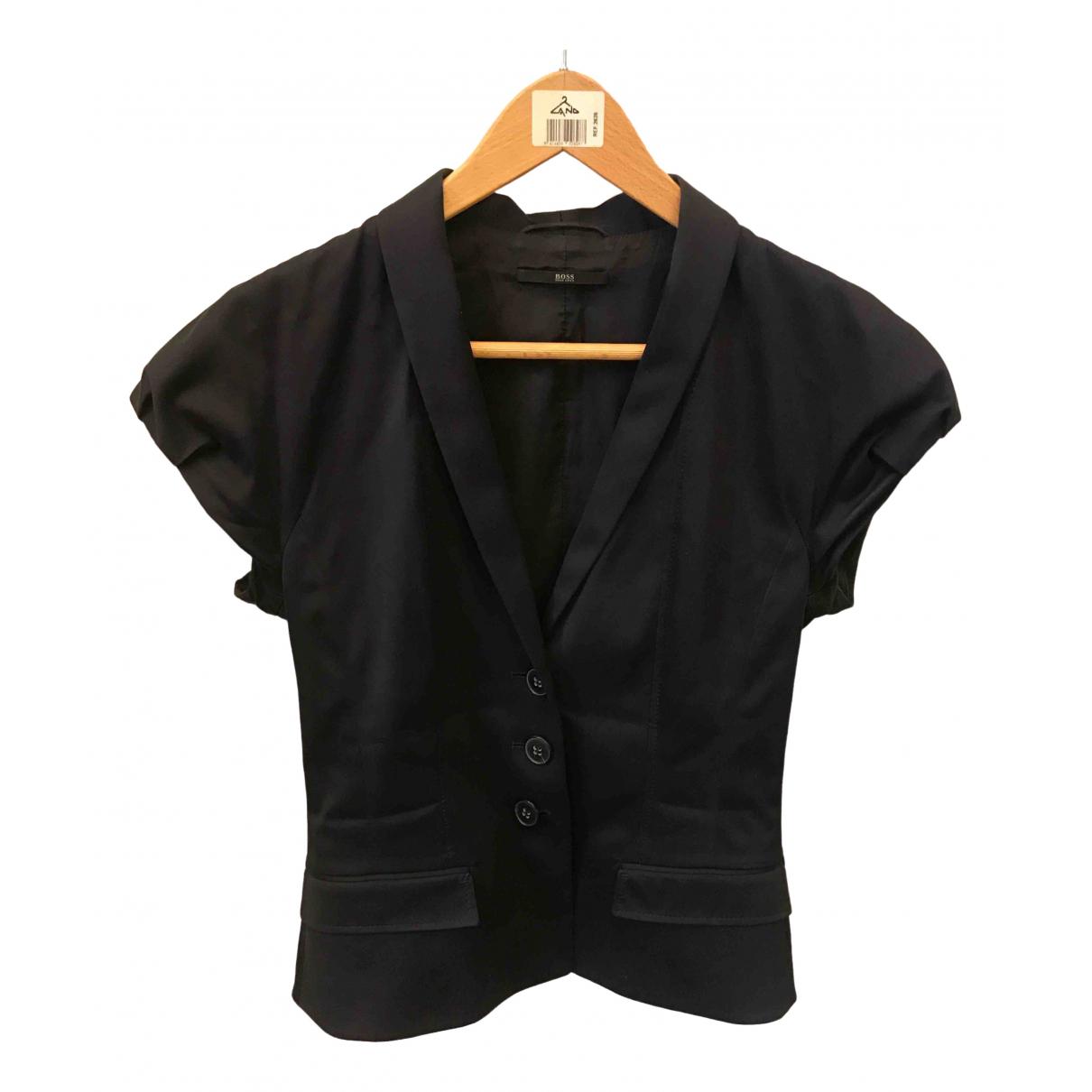 Hugo Boss \N Navy jacket for Women 6 US