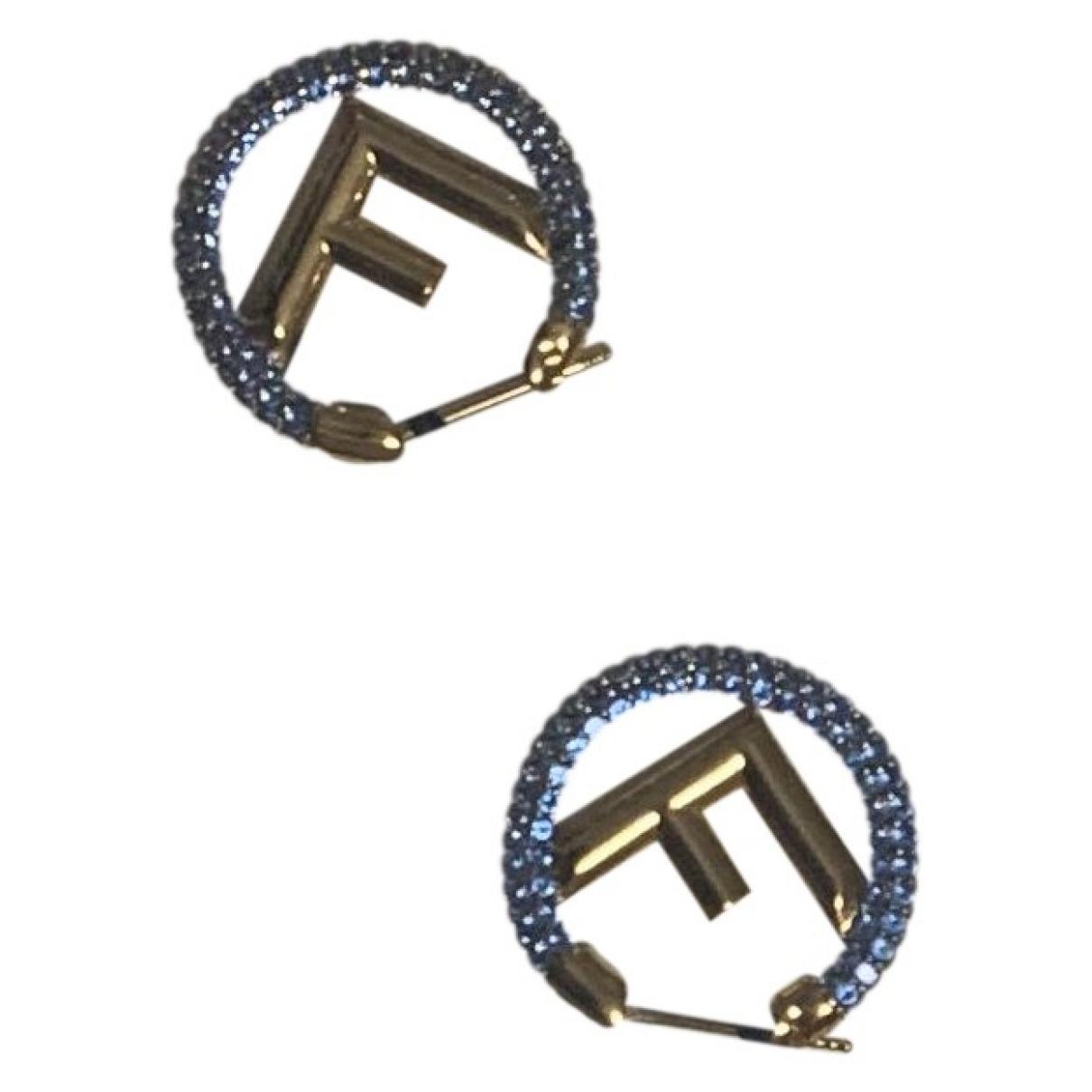Fendi \N Gold Metal Earrings for Women \N