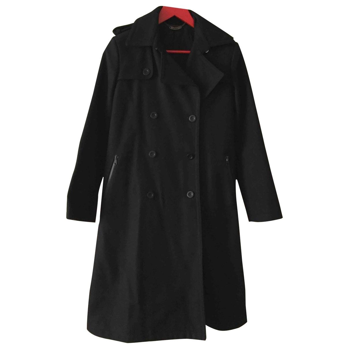 See By Chloé \N Black Wool coat for Women 38 IT