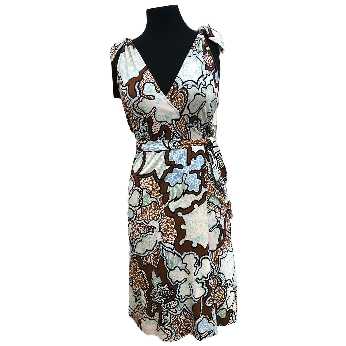 Diane Von Furstenberg \N Multicolour Silk dress for Women 6 US