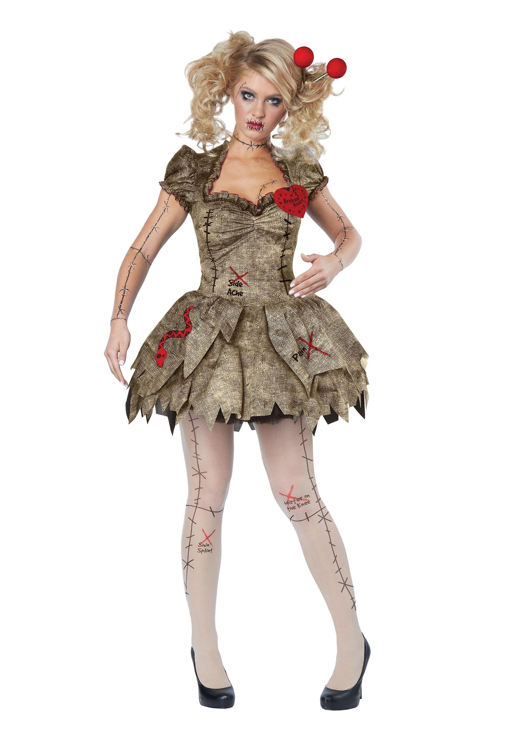 Voodoo Dolly Women's Costume
