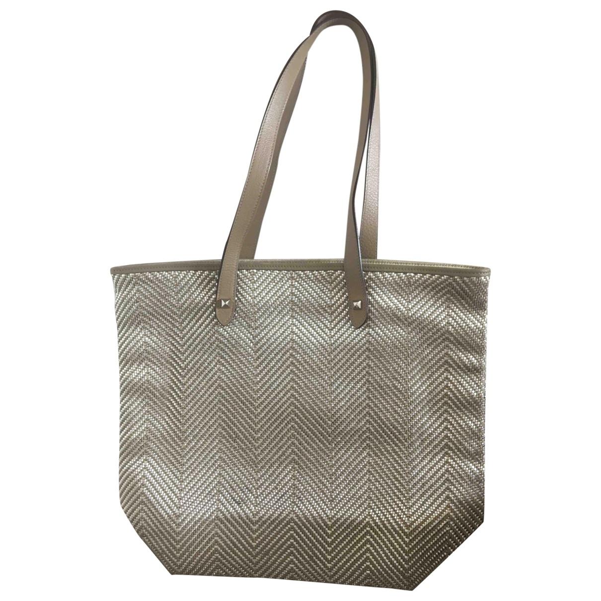 Hermès \N Beige Leather handbag for Women \N