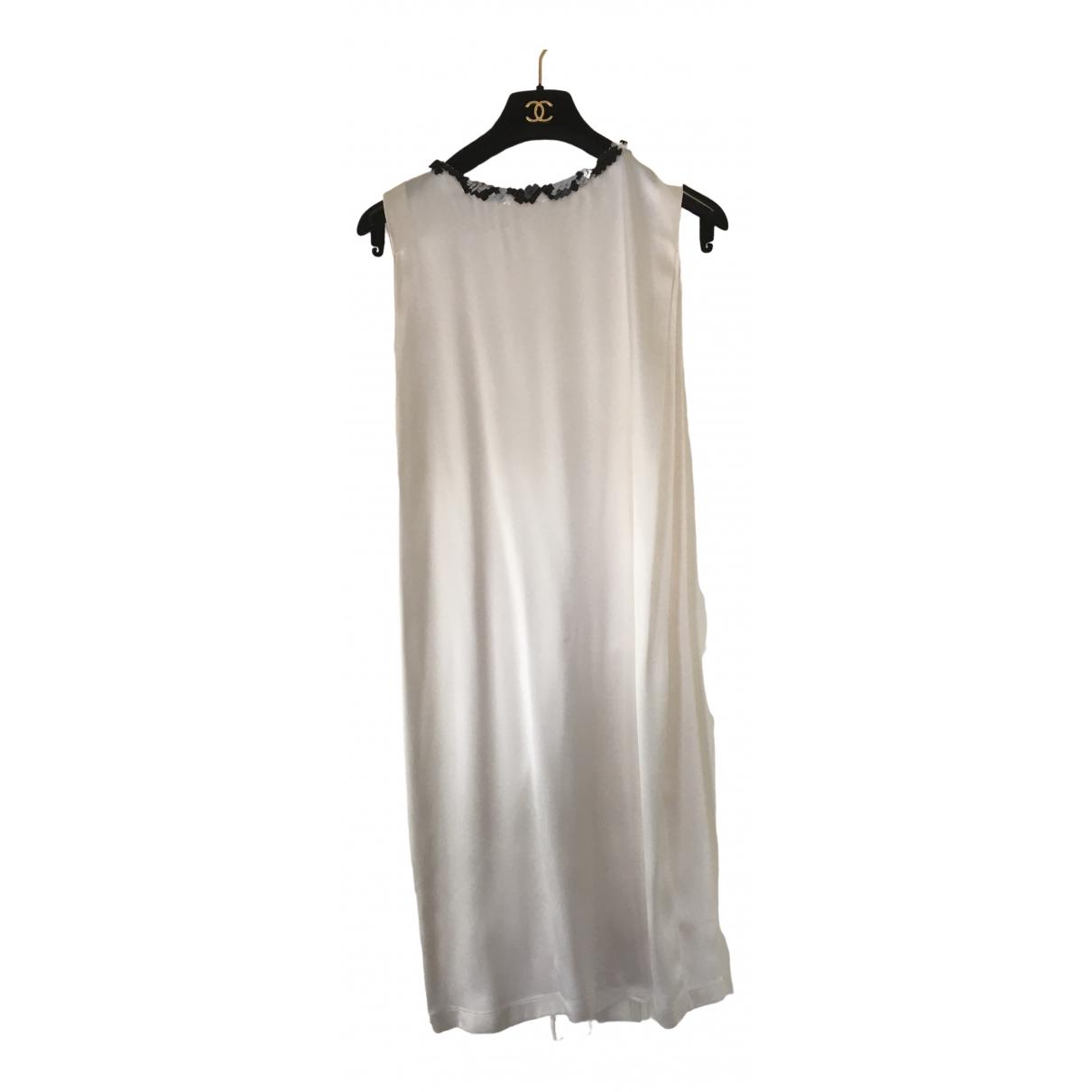 Chanel \N White Silk dress for Women 34 FR