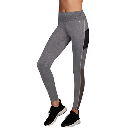 Maidenform Sport Baselayer Midweight High-Waisted Thermal Pants, Medium , Gray