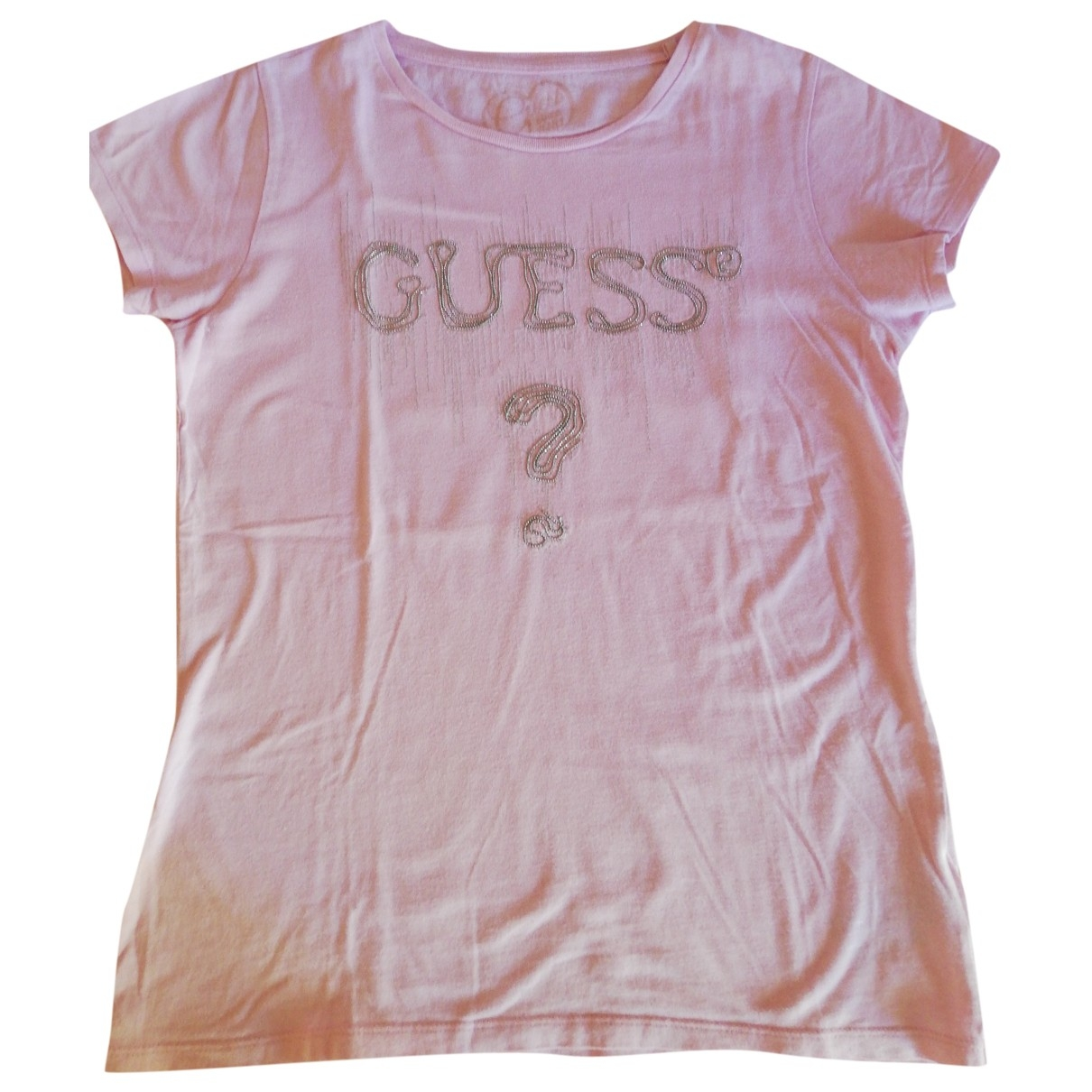 Guess \N Pink Cotton  top for Kids 14 years - S FR