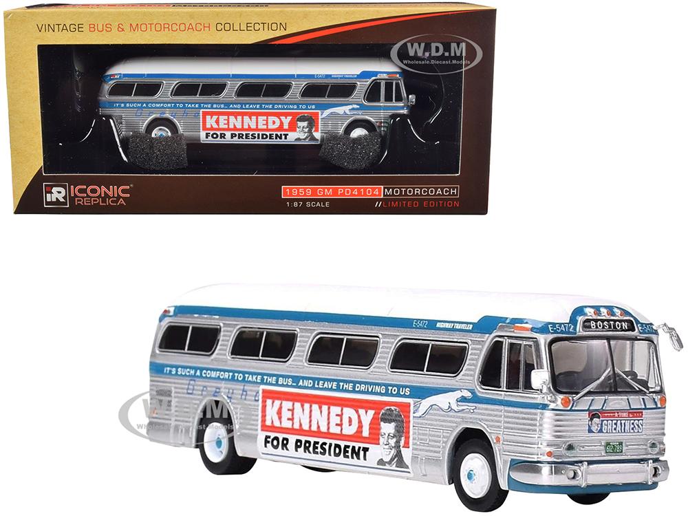 1959 GM PD4104 Motorcoach Bus