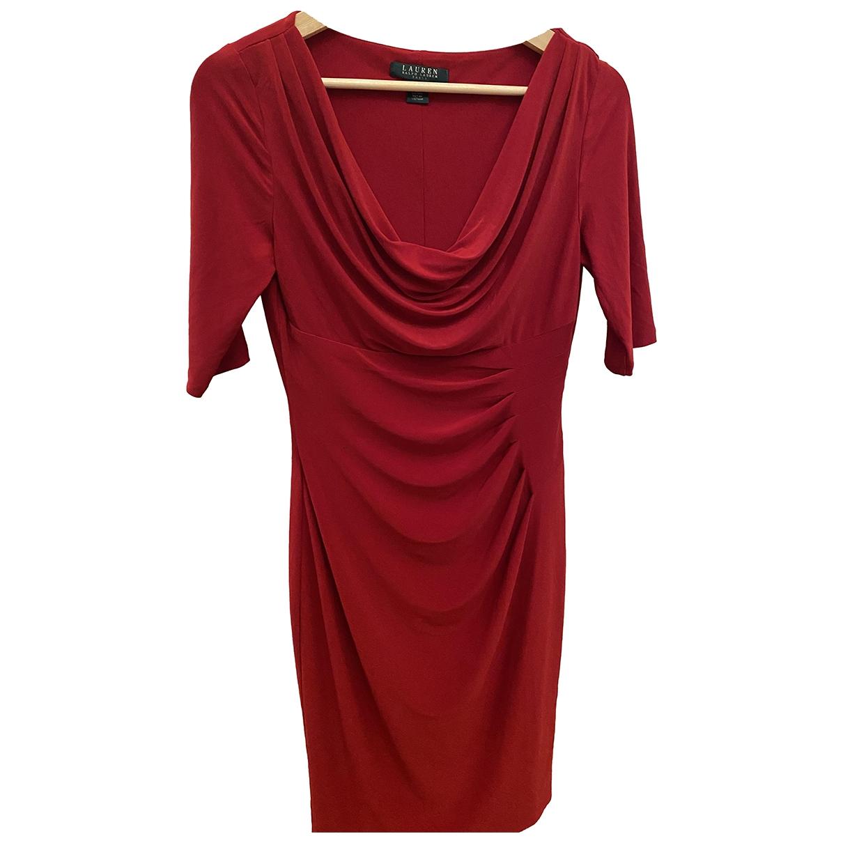 Lauren Ralph Lauren \N Red dress for Women 4 US