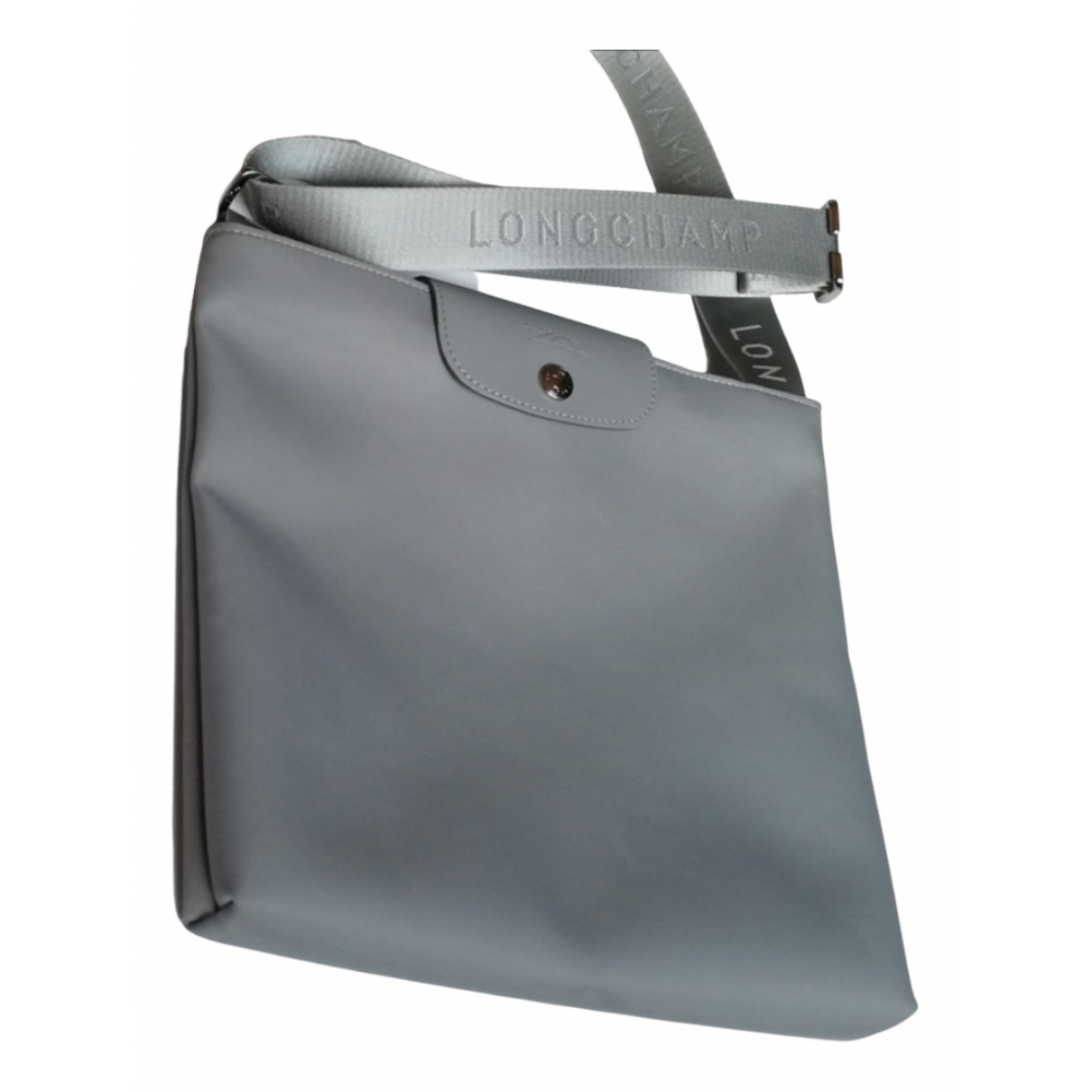 Longchamp Pliage  Grey Cloth handbag for Women \N
