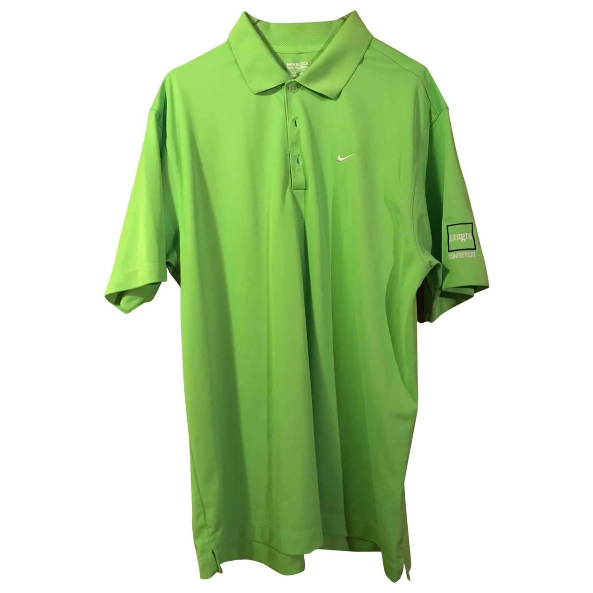 Nike \N Green Polo shirts for Men L International