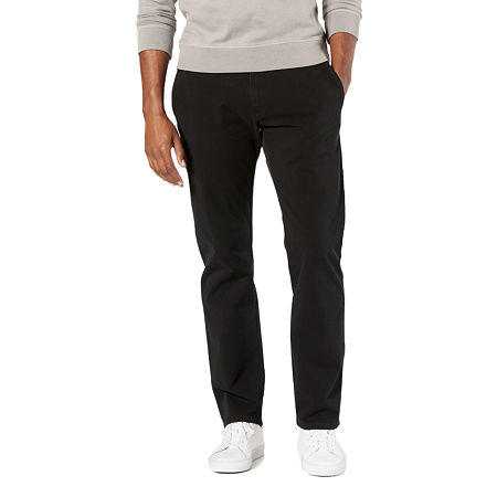 Dockers Men's Ultimate Chino Straight With Smart 360 Flex, 40 32, Black