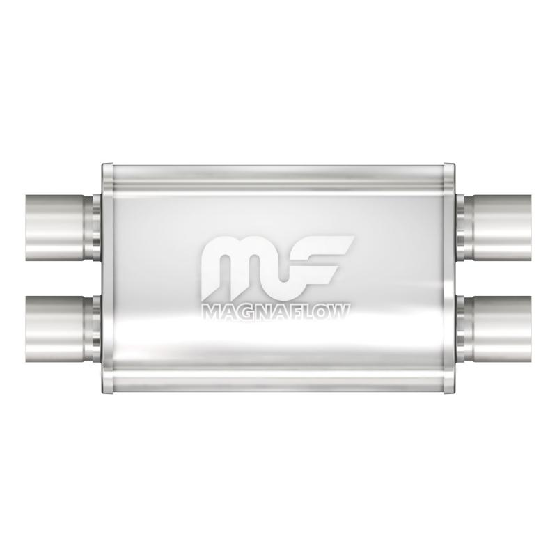 MagnaFlow 14386 Exhaust Products Universal Performance Muffler - 2.5/2.5