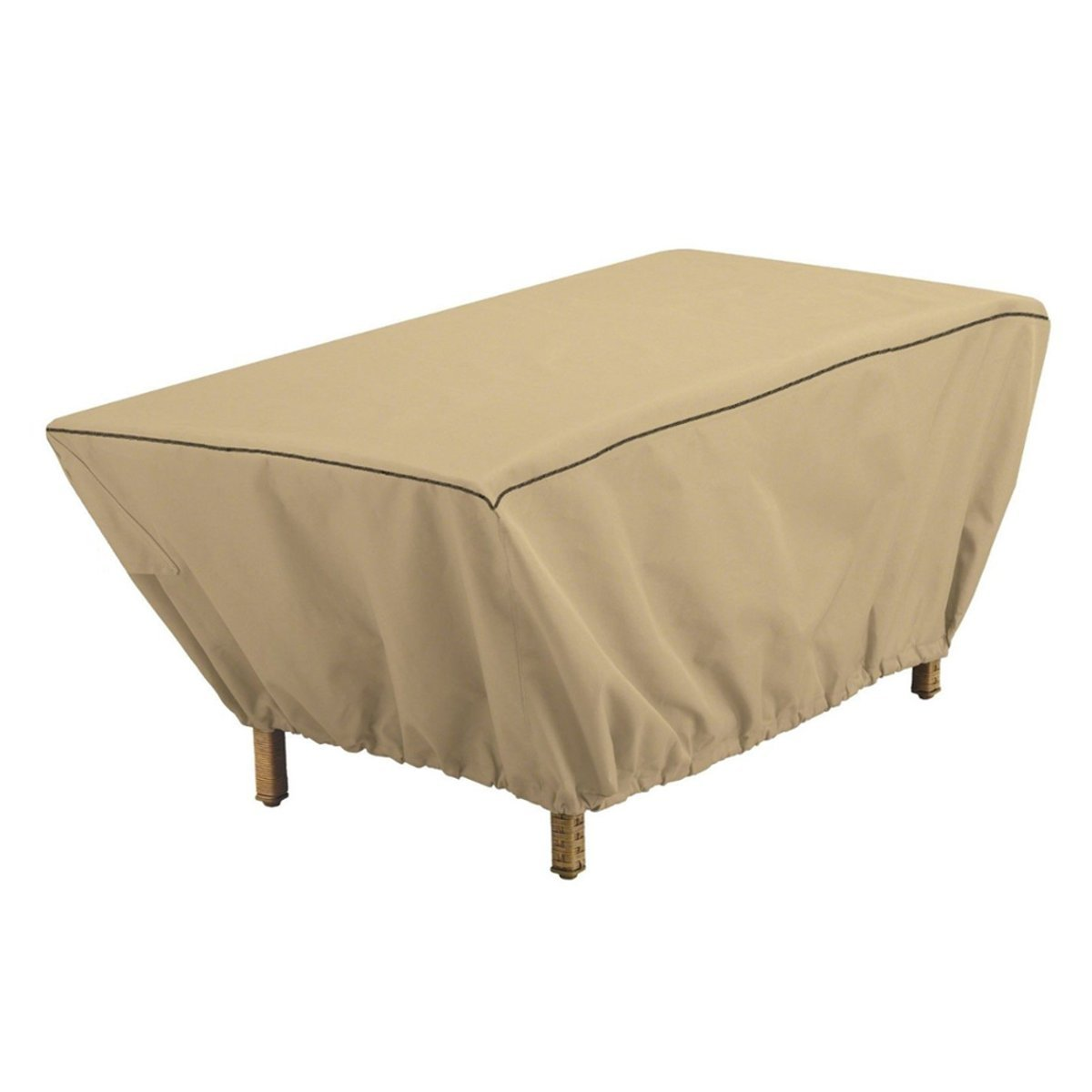 Waterproof Rectangular Patio Coffee Side Table Cover 48