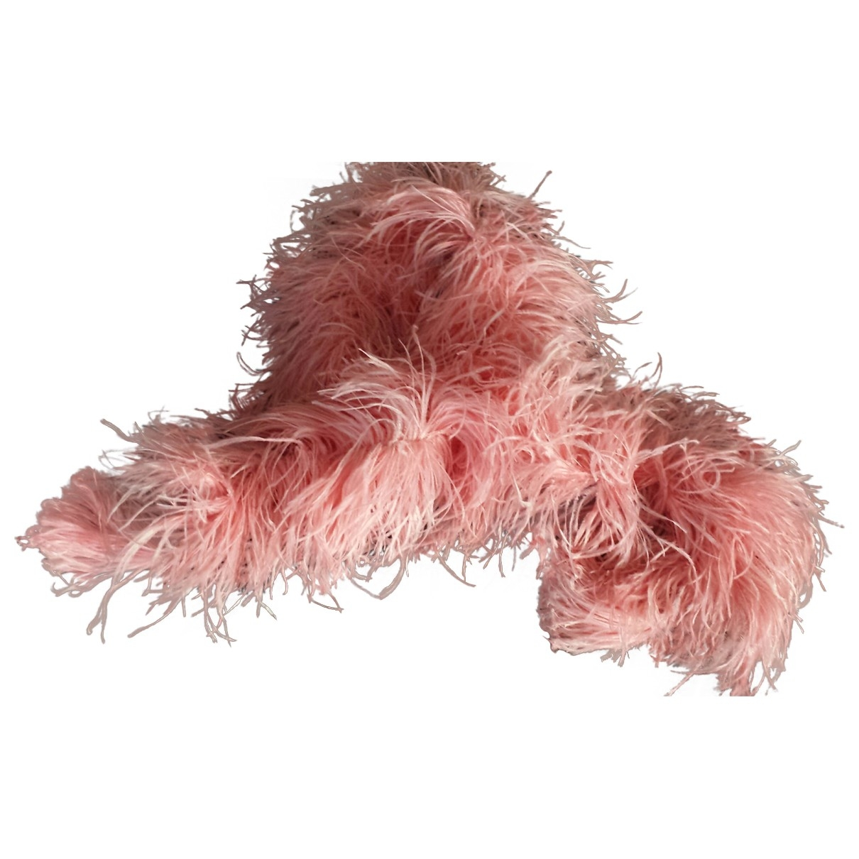 Non Signé / Unsigned \N Pink Fur scarf for Women \N